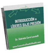 Introduction to Leadering Under Pressure by Gaby Cora